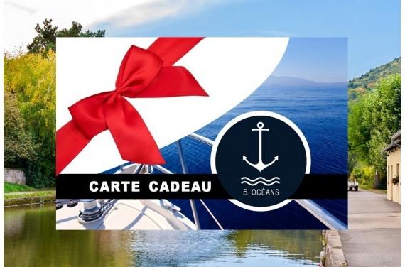 Permis cotier + fluvial - Carte cadeau à imprimer 399€ (Au lieu de 450€ Promo valable jusqu'au 30/04)