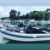 Voici les 2 nouveaux bateaux de @5_oceans_ , oui plus de bateaux = plus de pratiques. Inscrivez vous sur notre signe en ligne.  #5oceans #bateau #vannes #fetedesperes2020 #lovemyjob #mer #boat